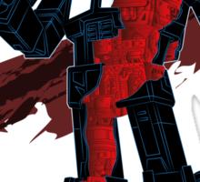 Optimus Prime - Écorché (dark) Sticker