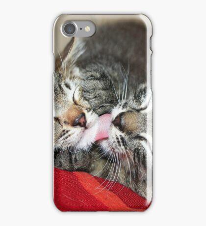 Kittens Sleeping Cuties iPhone Case/Skin