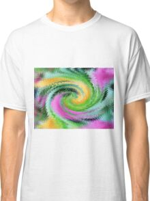 A Swirl Of Color Classic T-Shirt