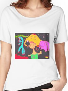 Uncle Barber and His Nomadic Travellers Women's Relaxed Fit T-Shirt