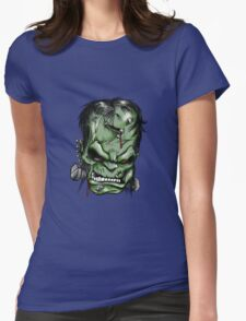 Frankenstein. Womens Fitted T-Shirt