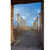 Columns in Jerash Photographic Print