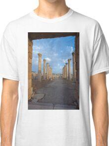 Columns in Jerash Classic T-Shirt