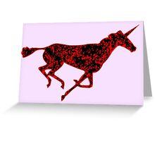 Unicorne 3 Greeting Card