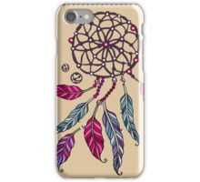 Indian Dream catcher- tribal amulet. iPhone Case/Skin