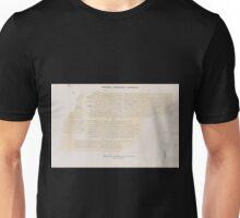 0260 Griechisch Demotische Inschriften Gr 9 11 Dem 181 182 Alabasterstele aus Kâhira jetzt im K Museum zu Berlin Forsetzung von Blatt 73 Unisex T-Shirt