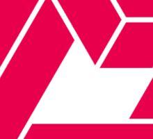 LADIES' CODE Triangle Logo (Pink) Sticker