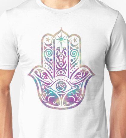 Colorful Hamsa Hand Unisex T-Shirt
