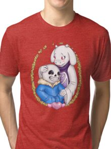 Sans and Toriel - Undertale Tri-blend T-Shirt