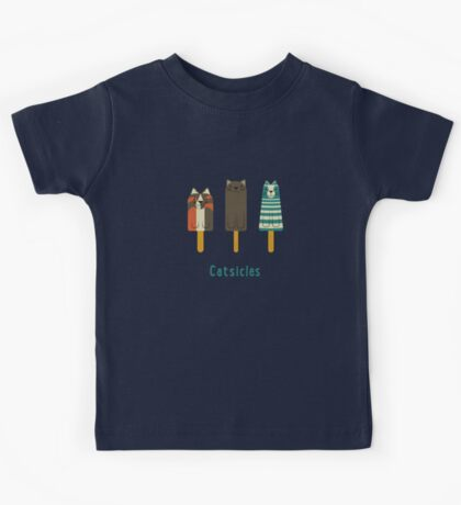 Catsicles Kids Tee