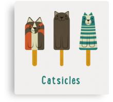Catsicles Canvas Print