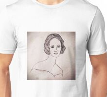 Portrait of Mary Shelley  Unisex T-Shirt