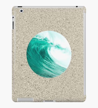 Beach Wave Minimal Simple  iPad Case/Skin