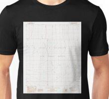 USGS TOPO Map Arizona AZ Aguila Mountains SW 310236 1990 24000 Unisex T-Shirt