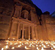 The treasure tonight, Petra by PhotoBilbo
