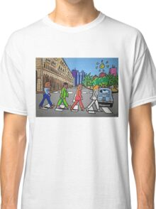 The Beatles in via Roma Cagliari PoscArt Classic T-Shirt