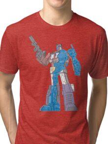 Optimus Prime - Écorché (blueprint v2) Tri-blend T-Shirt