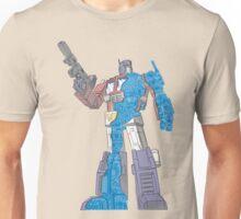 Optimus Prime - Écorché (blueprint v2) Unisex T-Shirt