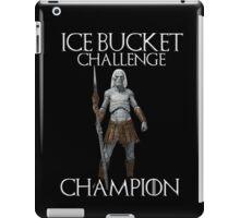 White walkers - ALS ice bucket challenge champion iPad Case/Skin
