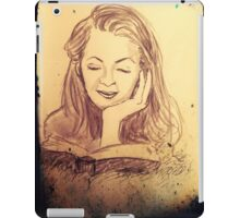 Alice reading in the afternoon  iPad Case/Skin
