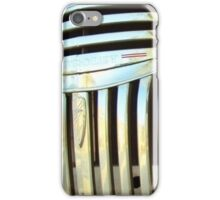 Classic Chevy Truck Grill iPhone Case/Skin
