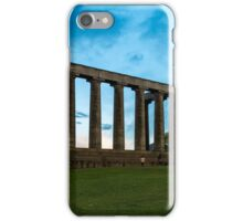 The National monument Edinburgh iPhone Case/Skin