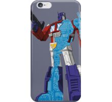 Optimus Prime - Écorché (blueprint v1) iPhone Case/Skin