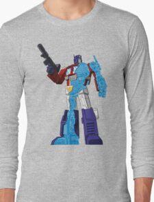 Optimus Prime - Écorché (blueprint v1) Long Sleeve T-Shirt