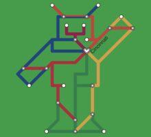 Robot: Cincinnati Baby Tee