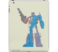 Optimus Prime - Écorché (blueprint v2) iPad Case/Skin