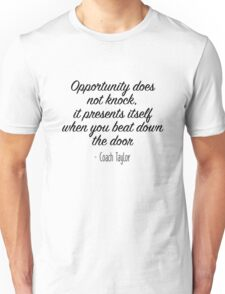 Friday Night Lights - Opportunity Unisex T-Shirt