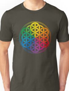 Flower Of Life, Sacred Geometry, Yoga Unisex T-Shirt