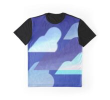 Glowing Night Clouds Graphic T-Shirt