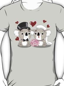 Koala's Wedding T-Shirt