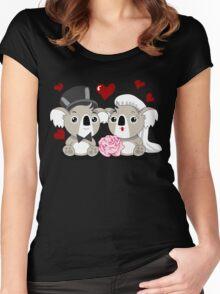 Koala's Wedding Women's Fitted Scoop T-Shirt