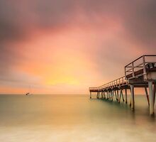 Torquay Sunrise - Hervey Bay Qld Australia by Beth  Wode