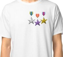 Three Stars - Medals Classic T-Shirt
