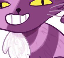 Cheeky Cheshire Cat Sticker