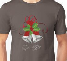 Silver Bells & Holly/Christmas Unisex T-Shirt
