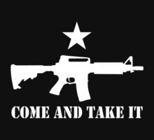 2nd Amendment - Come and Take It by robotface