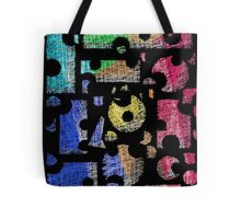 Colorful puzzle  Tote Bag