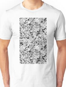 cute graphite  Unisex T-Shirt