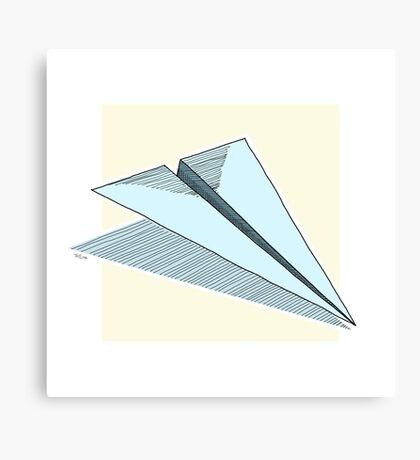 Paper Airplane 14 Canvas Print