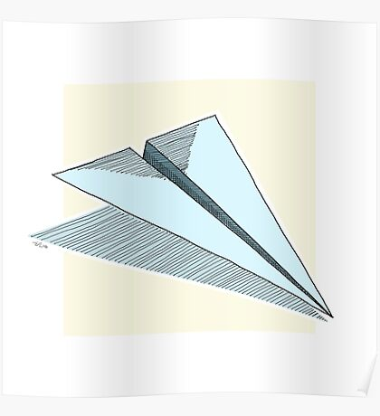 Paper Airplane 14 Poster