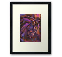 Horse Strong Head Framed Print