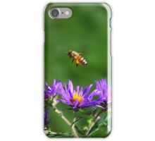 The bee and the Aster iPhone Case/Skin