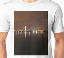 Jefferson and Washington Memorials pre dawn Unisex T-Shirt