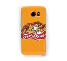Fire Types Samsung Galaxy Case/Skin