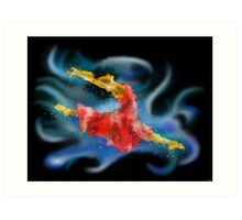 Danerossia V1 - the dance Art Print