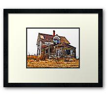 Regan Farm House Framed Print